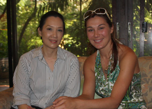 President of The Thai Kennel Club Pusara Suntrangkoon & Irina Levchuk (ThaimLine Kennel)